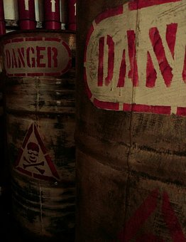 Danger, Environment, Pollution, Storage, Chemical
