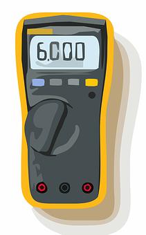 Voltage, Meter, Multimeter, Tester, Amp, Electrical