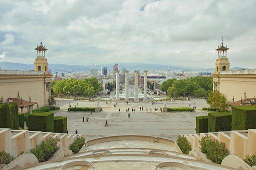 Montjuïc, Barcelona, Europe, Trip, Tourist, History