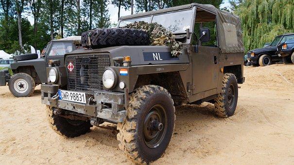 Land Rover, Antique, Auto, Historic Vehicle, Exclusive