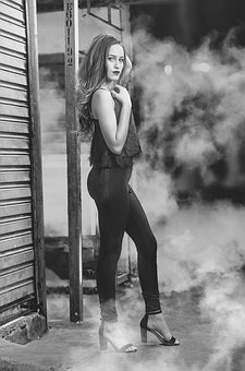 Fashion, Photo In Black And White, Women's Fashion