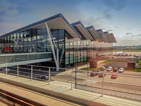 Airport, Gdańsk, Rębiechowo, Walesa, Port, Architecture