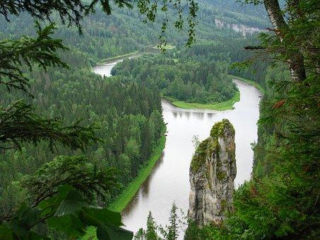 Island, The River Usva, Osvenskii Posts
