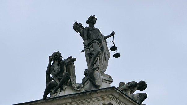 Justizia, Justice Symbol, Justice Building, Figure