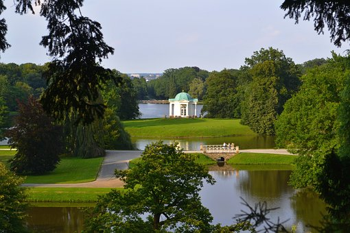 Karlsaue, Kassel, Swan Island, Orangery, Hesse