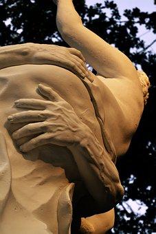 Statue, Karlsaue, Kassel, Orangery, City Park, Hesse