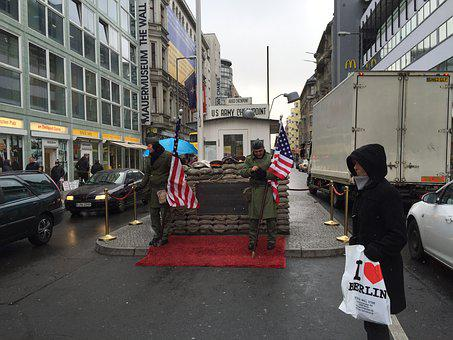 Checkpoint Charlie, Berlin, Germany, Nazi, Charlie