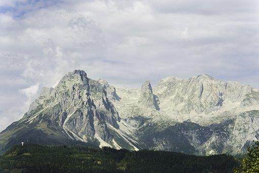 Salzburg Slate Alps, Salzburg, Austria, Mountain, Stone