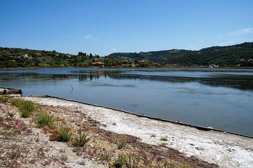 Salina, Evaporation Of Salt, Sea Salt, Slovenia