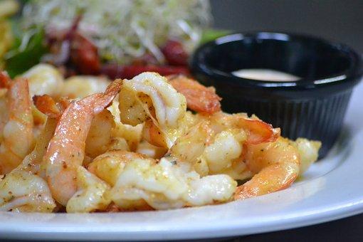 Shrimp, Food, Dish, Kitchen, Saucer