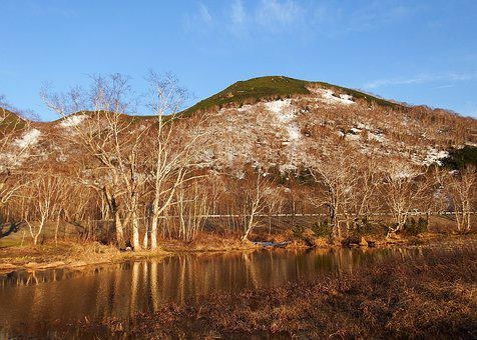 Spring, Mountain, Nipple, Slope, Snow