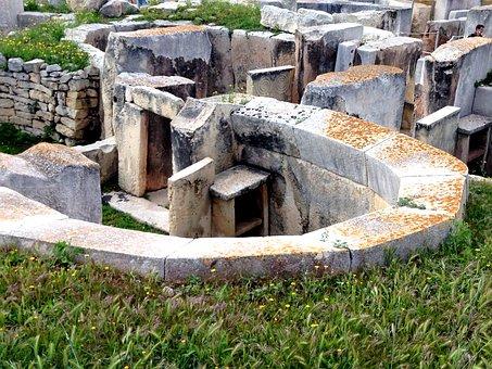Tarxien Temple, Malta, Unesco World Heritage Site