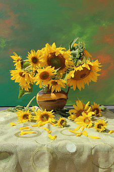 Bouquet, Still Life, Flowers, Close, Vase, Flower Vase