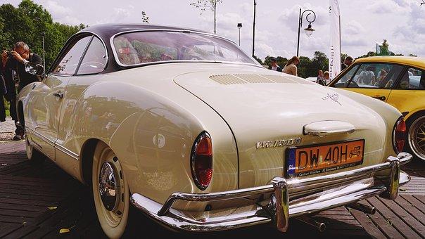 Vw, Carman, Oldtimer, Old, Retro Car, Antique Auto