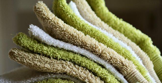 Washing Gloves, Washcloth, Terry, Soft, Fluffy