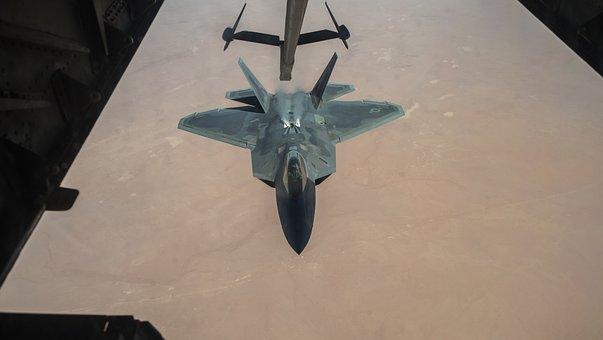 F-22, Raptor, Stealth, Aircraft, Aviation, Flight