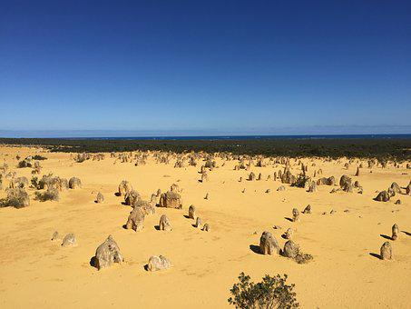 The Pinnacles, Australia, Nambung National Park, Desert