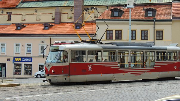 Prague, Tram, City, Czech, Street, Urban, Travel