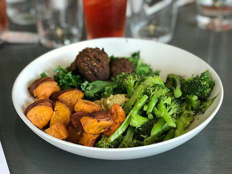 Clean Eating, Broccoli, Sweet Potato, Healthy