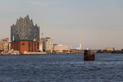 Elbe Philharmonic Hall, Elphi, Building, Hamburg, Port