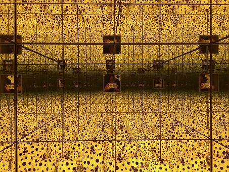 Yayoi Kusama, Dots, Pumpkin, Famous, Japan, Kusama