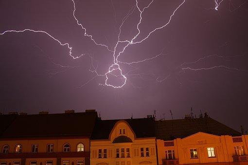 Flash, Storm, Weather, Sky, Thunder