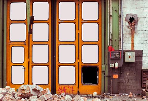 Gateway, Goal, Input, Exit, Old, Folding Door, Yellow