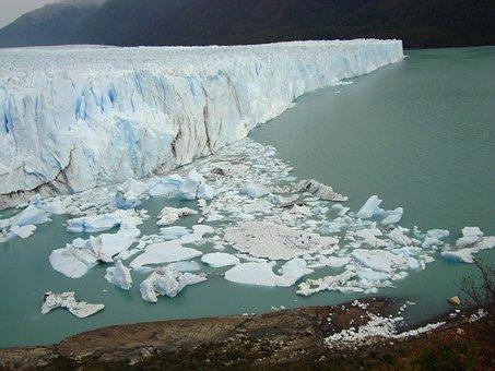 Lake, Defrost, Glacier, Nature, Argentina, Ice