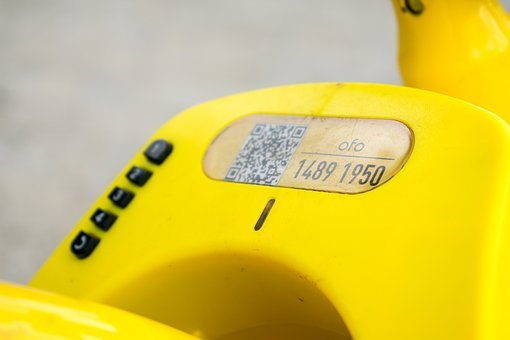 Ofo, The Little Yellow Car, Shared Bike, Bicycle