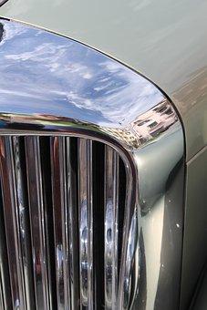 Chrome, Vintage, Old, Classic, Metal, Car, Antique