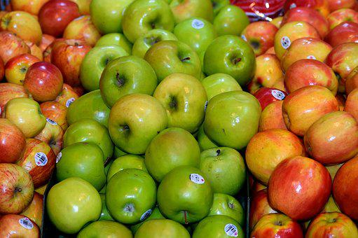 Apples, For Sale, Fruit, Food, Sale, Ripe, Organic