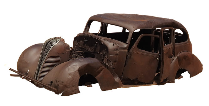 Auto, Wreck, Car Age, Oldtimer, Rust, Rusted, Broken