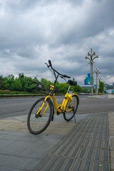 Ofo, The Little Yellow Car, Shared Bike, Bike