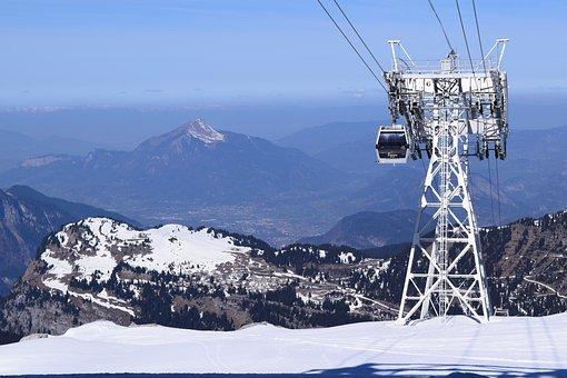 Mountain, Alps, Snowboarding, Alpine, Snow, Winter