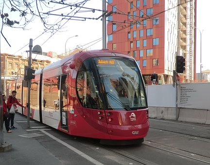 Tram, Sydney, New South Wales, Australia