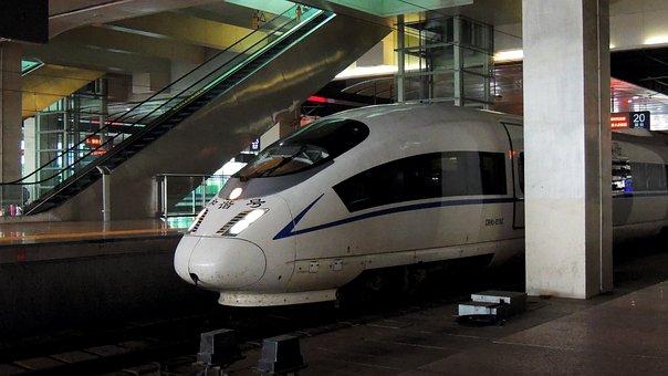 Beijing, Train, Transport, Transportation, Travel