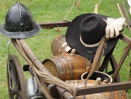 Props, Old, Cart, War
