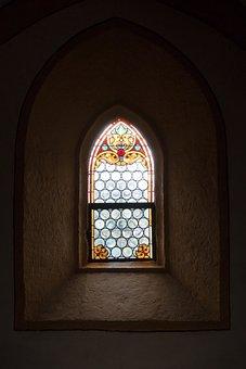 Church Window, Church, Chapel, Glass Window, Window