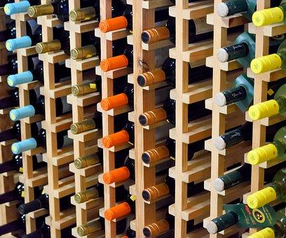 Wine, Display, Bottles, Vineyard, Winery, Alcohol