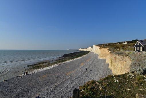 Seven Series, Cliff, Beach, But, Sea