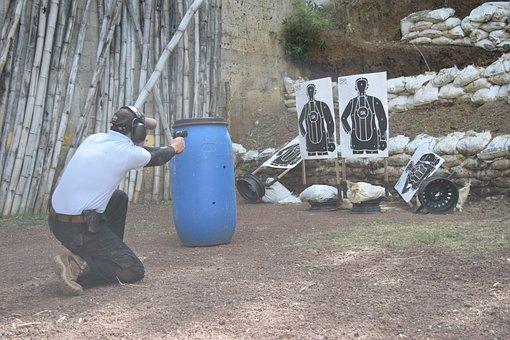Shooting, Shotgun, Practice, Sport, Weapon, Competition