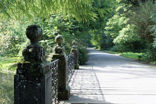 Danube, Bridge, Donaueschingen, Park, Garden, Source