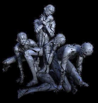 Estatue, Marble, Fail