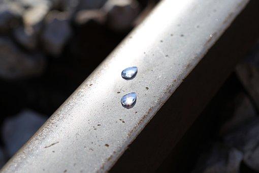 Frozen Tears On Railway, Stop Children Suicide