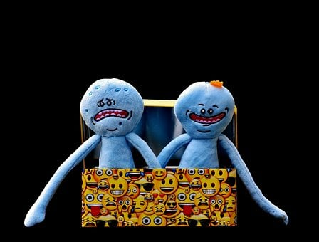 Rick And Morty, Characters, Emotions, Smilies, Funny