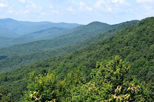 Appalachian Mountains, Dahlonega, Georgia, Mountain