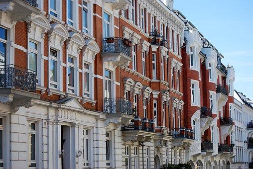 Hamburg, Homes, Architecture, Hohenfelde, Ackerman Road