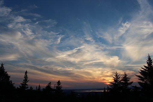 Sunset, Outdoors, Color, Night, Landscape, Nature, Sky