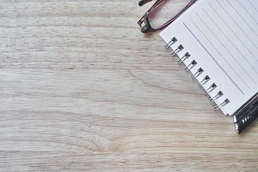 Notebook, Pen, Eyewear, Article, Note, Take Notes