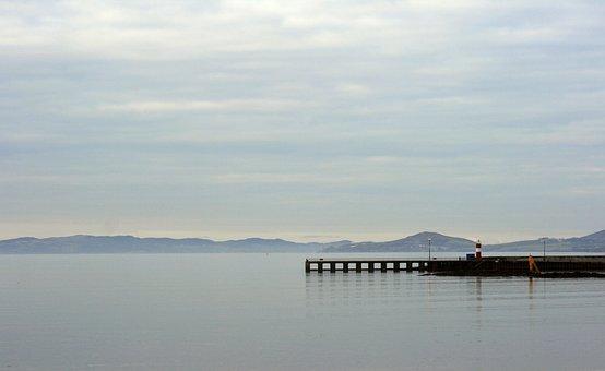 Pier, Lake, Sea, Water, Landscape, Outdoor